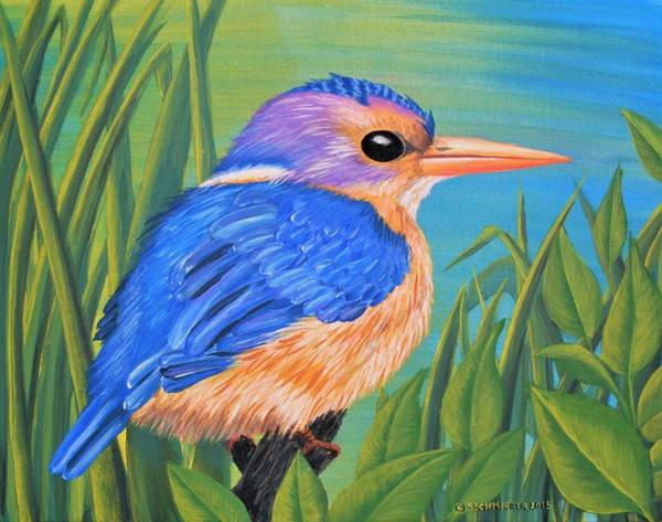 Painting - Litttle King Of The Fishers by Sophia Schmierer