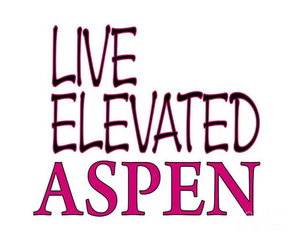 Digital Art - Live Elevated Aspen Colorado by David Millenheft