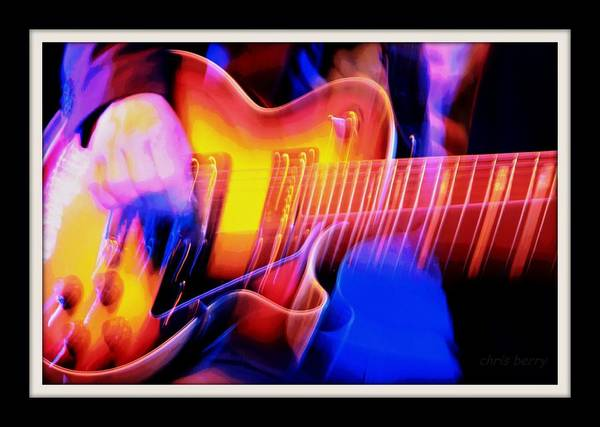 Wall Art - Photograph - Live Music by Chris Berry