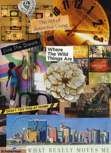Mixed Media - Live Your Best Life  by Susan Schanerman