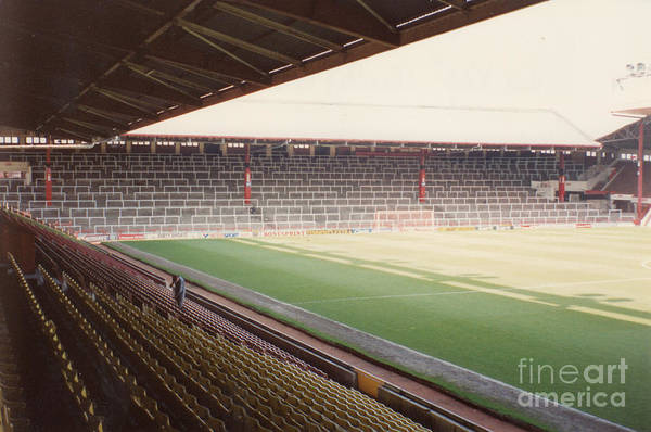 Wall Art - Photograph - Liverpool - Anfield - The Kop 2 - 1991 by Legendary Football Grounds