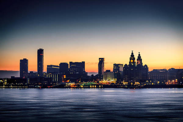 Photograph - Liverpool Dawn by Peter OReilly