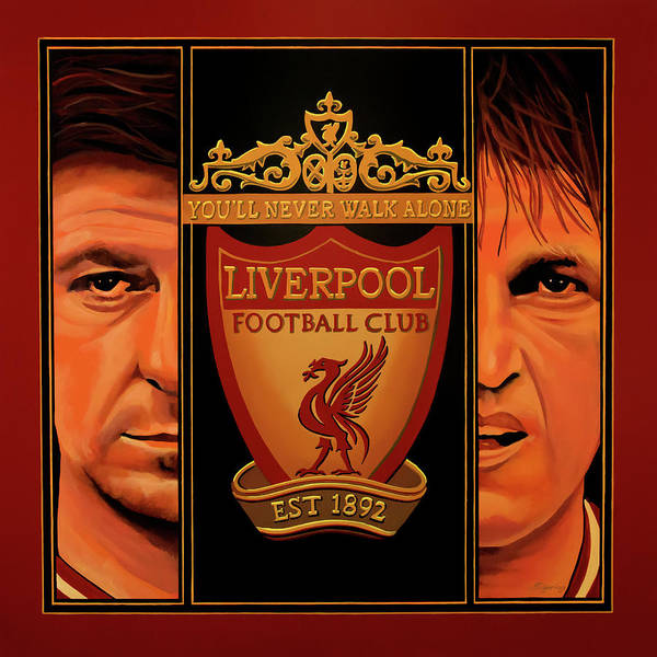 Wall Art - Painting - Liverpool Painting by Paul Meijering