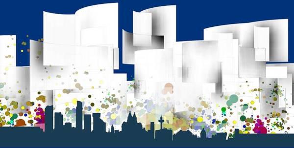 Liverpool Skyline Digital Art - Liverpool Skyline .1 by Alberto RuiZ