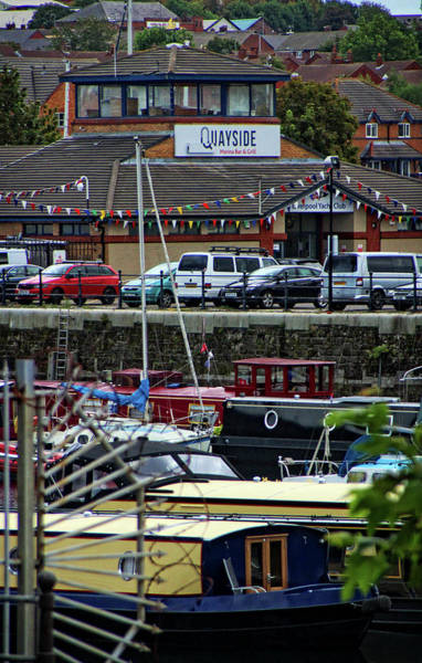Photograph - Quayside Yacht Club by Doc Braham