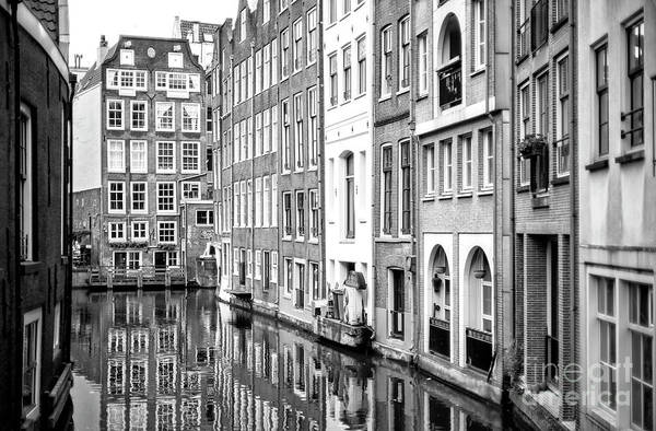 Photograph - Living Along The Canal In Amsterdam by John Rizzuto
