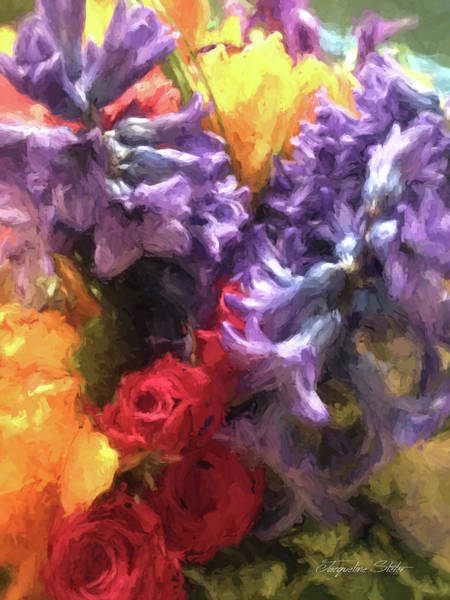 Digital Art - Living Color by Jacqueline Sleter