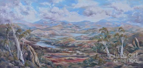 Painting - Living Desert Broken Hill by Ryn Shell