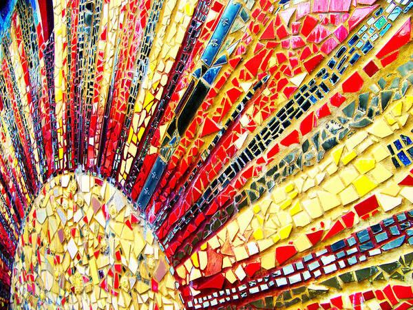 Living Edgewater Mosaic Art Print