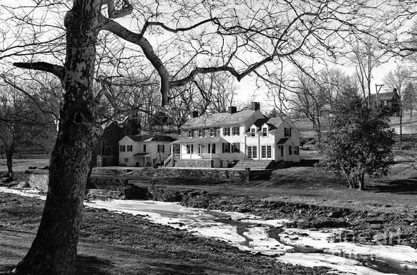 Photograph - Living In Bucks County Pa Mono by John Rizzuto