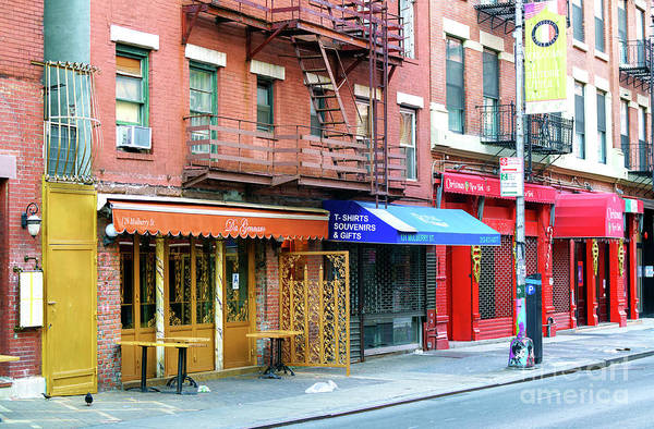 Photograph - Living In Little Italy New York City by John Rizzuto