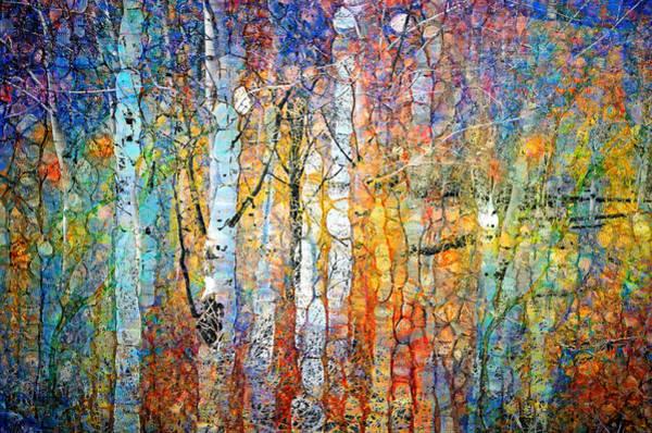 Distortions Digital Art - Living Life In Colour by Tara Turner