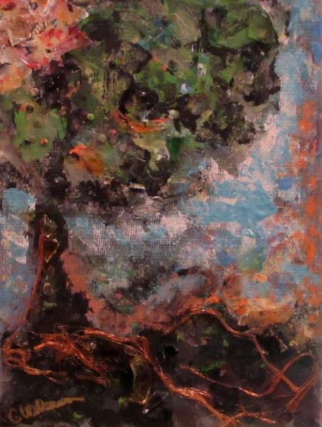 Fall Scenery Mixed Media - Living Roots by Ginna Wilkerson