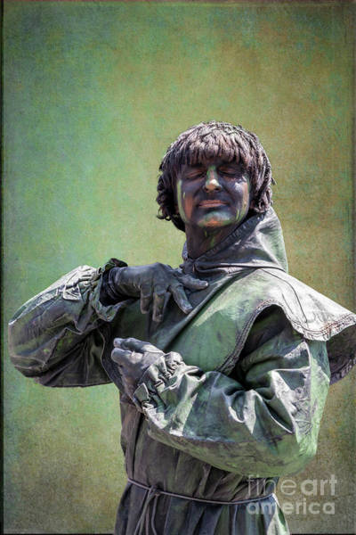 Photograph - Living Statue In Green by Heiko Koehrer-Wagner