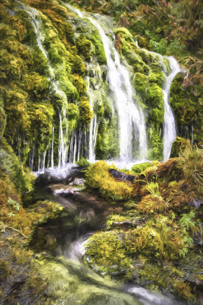 Digital Art - Living Water II by Jon Glaser