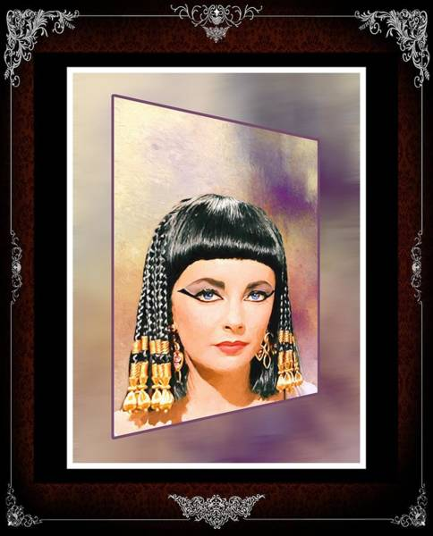 Photograph - Liz Taylor-queen Cleopatra_1 by Ericamaxine Price