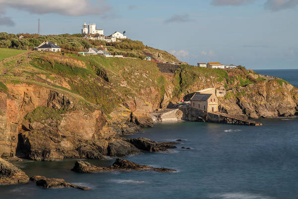 Lifeboat Photograph - Lizard Point - England by Joana Kruse