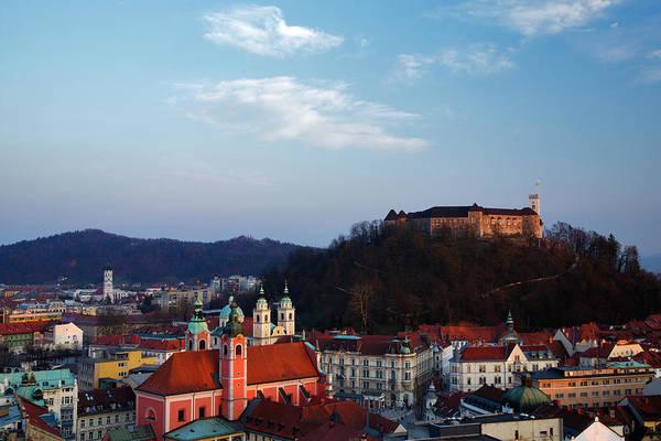 Ljubljana Photograph - Ljubljana From Above by Ian Middleton