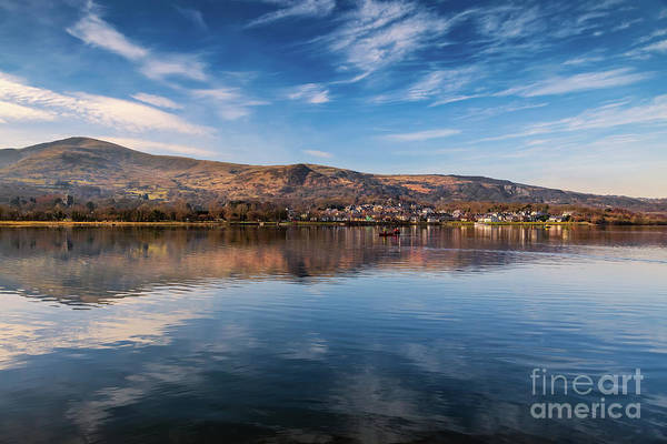 Wall Art - Photograph - Llanberis Lake Reflections by Adrian Evans