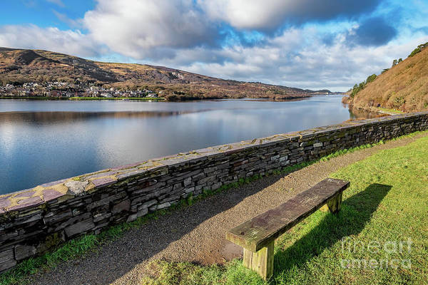 Wall Art - Photograph - Llanberis Viewpoint Snowdonia by Adrian Evans