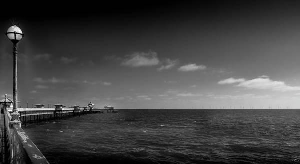 Photograph - Llandudno Pier - North Wales by Georgia Fowler