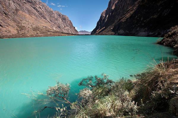 Photograph - Llanganuco Lakes by Aivar Mikko