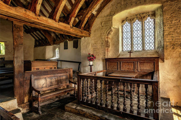 Wall Art - Photograph - Llangelynnin Church by Adrian Evans