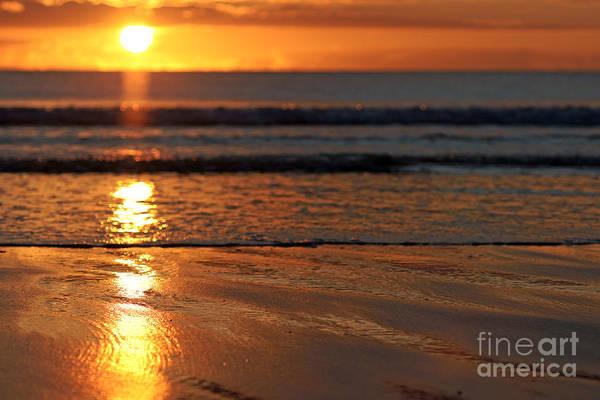 Photograph - Llangennith Beach Sand Textures by Minolta D