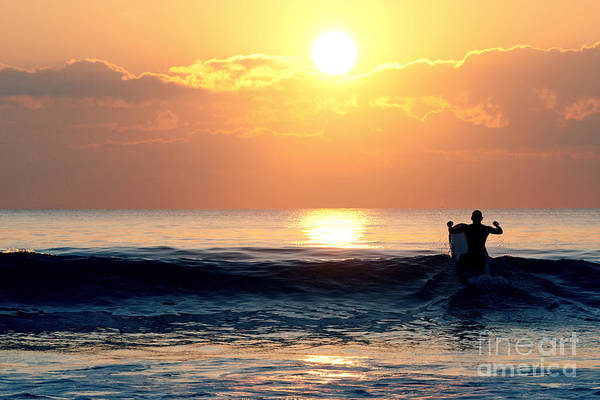 Photograph - Llangennith Last Wave by Minolta D