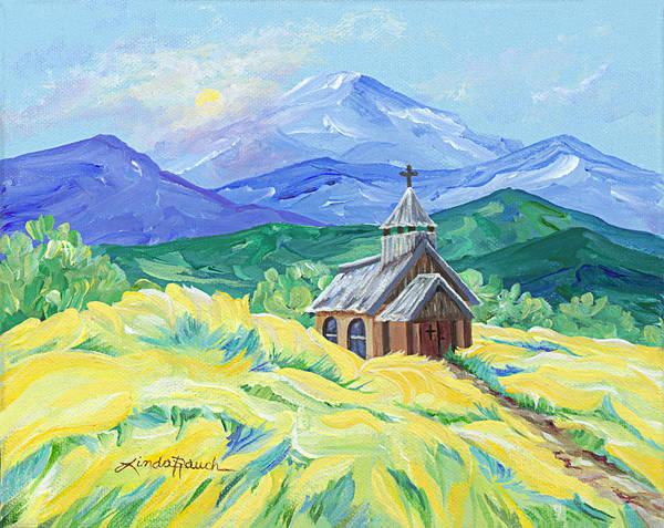 Painting - Llano, Nm by Linda Rauch