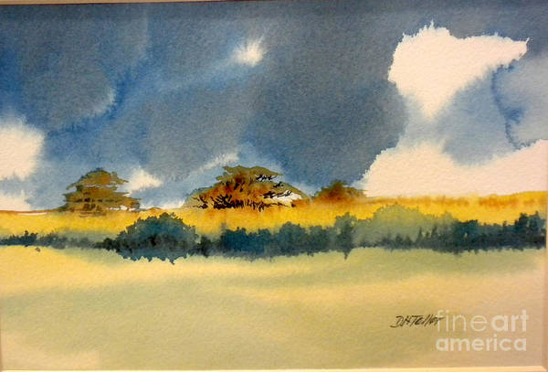 Painting - Llanos by Douglas Teller