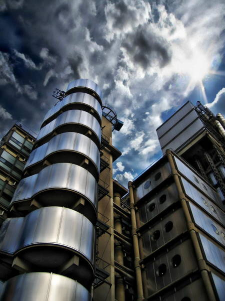 Photograph - Lloyd's Building Architecture by Anthony Dezenzio