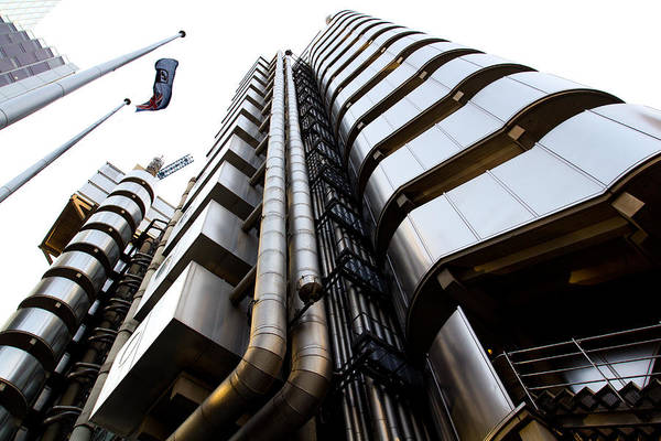 Square Mile Wall Art - Photograph - Lloyds Building London  by David Pyatt