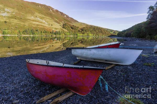 Photograph - Llyn Crafnant Boats by Ian Mitchell