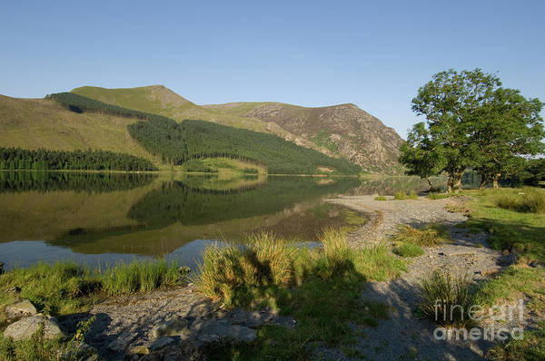 Photograph - Llyn Cwellyn Lake, Snowdonia National Park, Wales Uk by Keith Morris