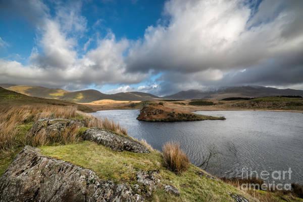 Photograph - Llyn Y Dywarchen by Adrian Evans