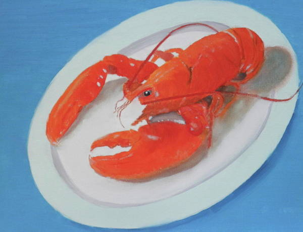 Painting - Lobsta Time by Scott W White