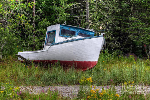 Wall Art - Photograph - Lobster Boat 1 by Rick Mann