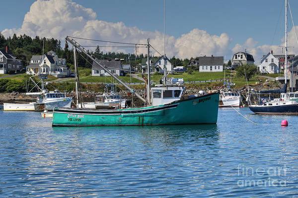 Wall Art - Photograph - Lobster Boat by Rick Mann