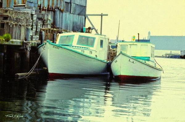 Photograph - Lobster Boats by Frank Wilson