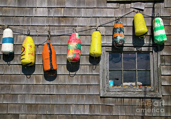 Photograph - Lobster Bouys by Scott Kemper