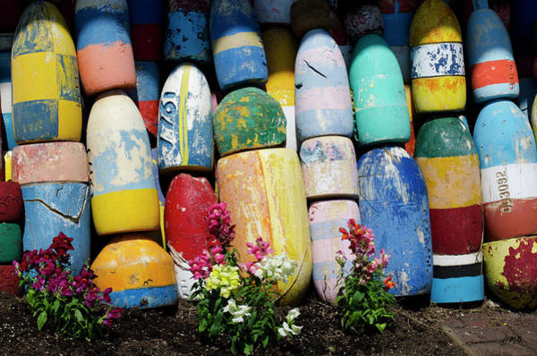 Photograph - Lobster Buoys - Rockport by David Gordon