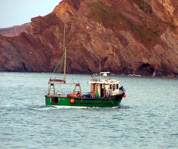 Wall Art - Photograph - Lobster Fishing Boat by Mindy Newman