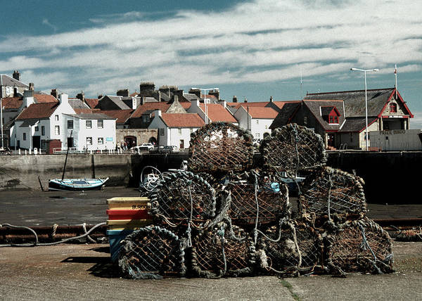Photograph - Lobster Pots by Kenneth Campbell