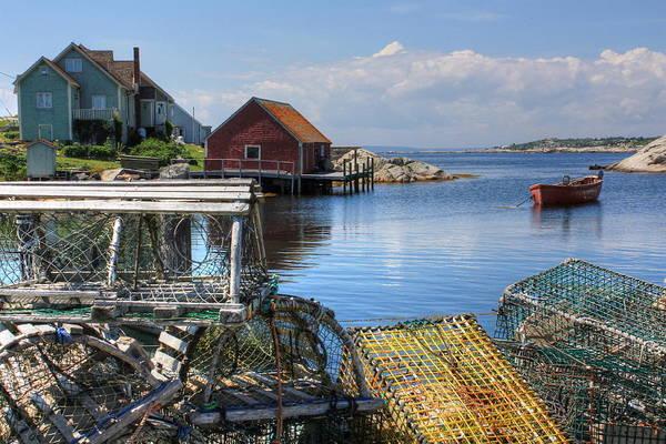 Photograph - Lobster Traps by David Matthews