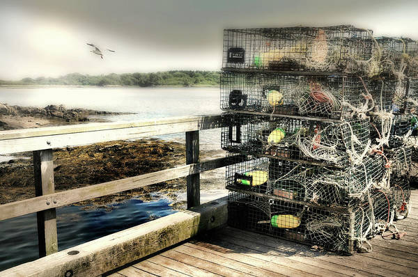 Wall Art - Photograph - Lobster Traps by Diana Angstadt