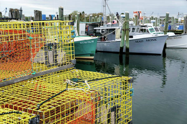 Photograph - Lobster Traps In Galilee by Nancy De Flon