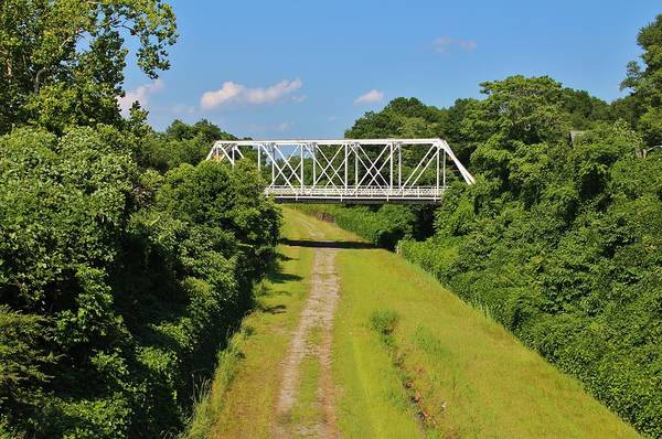 Photograph - Local Landmark Bridge by Cynthia Guinn