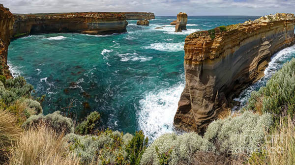 Wall Art - Photograph - Loch Ard Gorge by Rick Mann