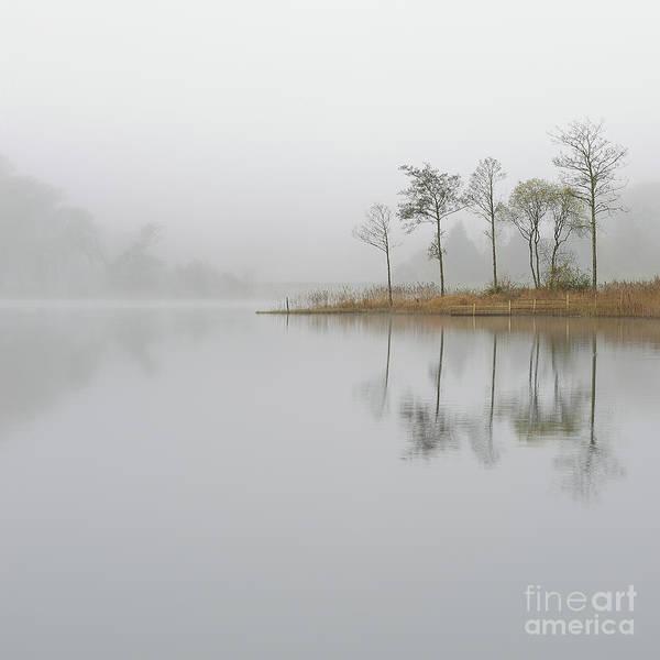Loch Ard Misty Sunrise Art Print